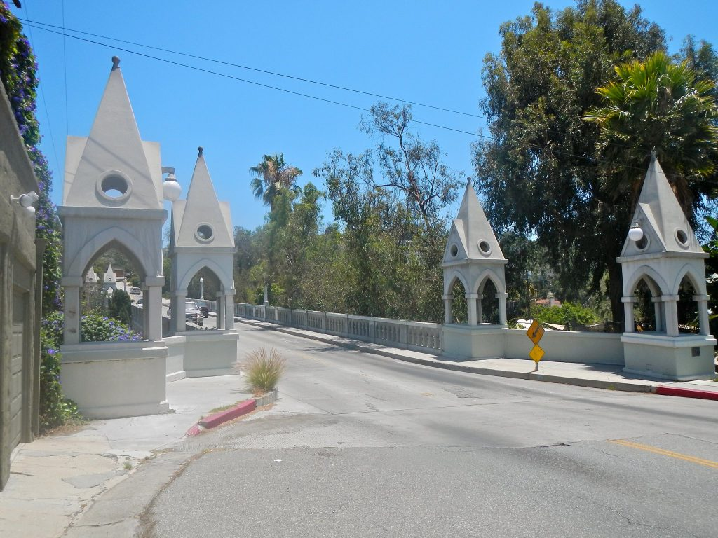 Shakespeare bridge los feliz los angeles dtla california