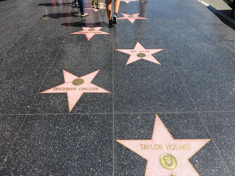 hollywood walk of fame trevor