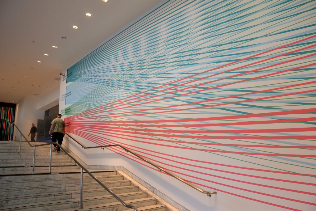 hammer museum interior painting entrance westwood la