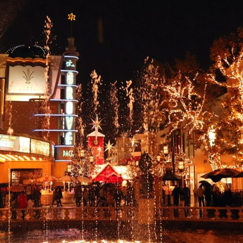 The Grove is a Luxurious Open-Air Shopping Experience Near Beverly Hills
