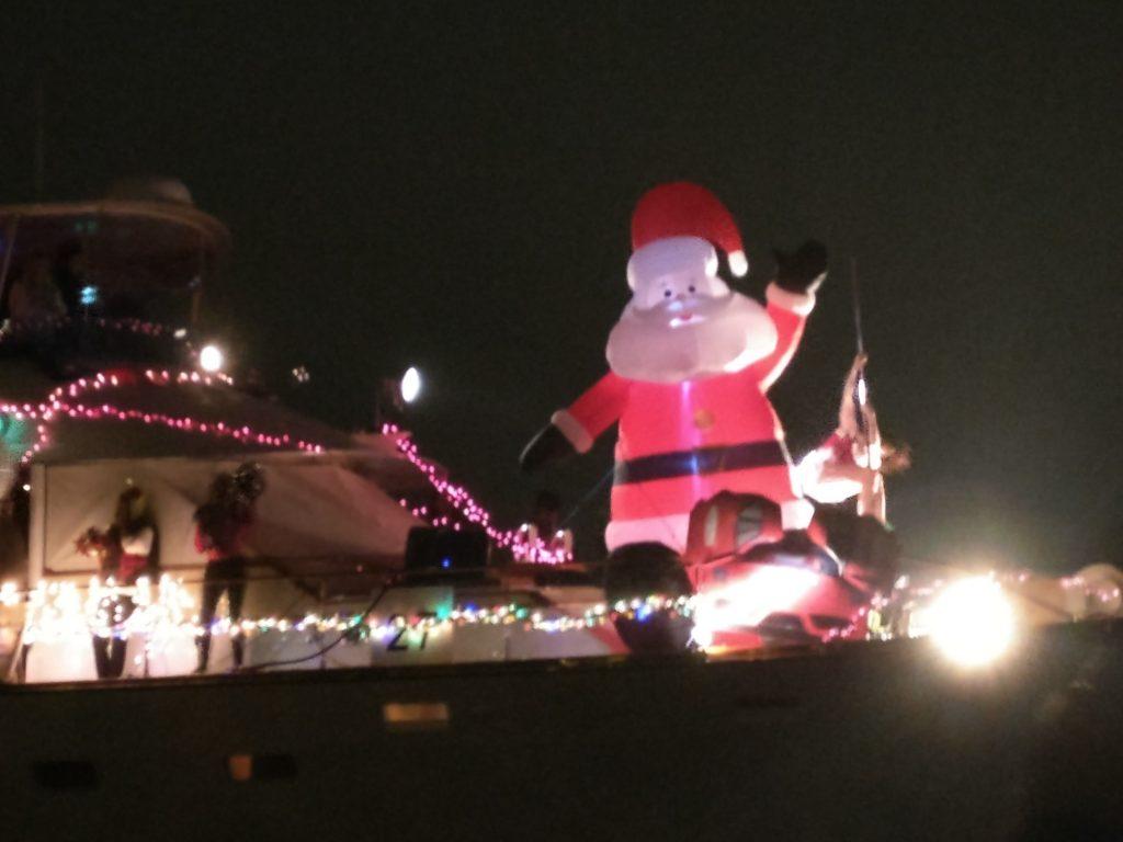 santa clause yacht dancer