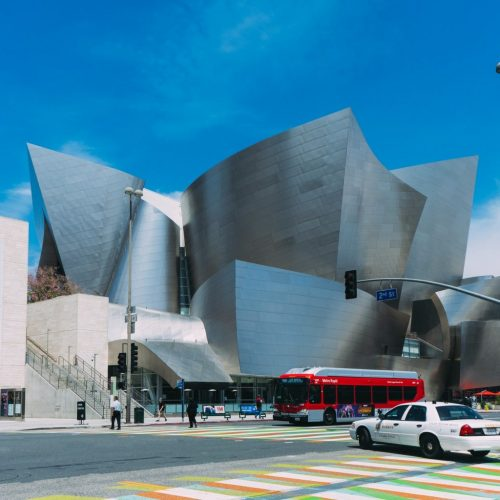 Crazy Architecture and Compositions by the LA Philharmonic at Walt Disney Concert Hall