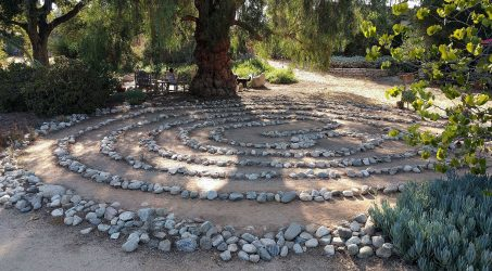 The Hidden Pasadena Gem with a Rock Spiral Maze: Arlington Garden
