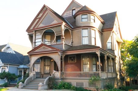 The Vintage Yet Modern Architecture of the Carroll Ave Victorian Houses