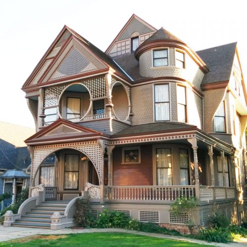 LA Cultural Monuments – Carroll Ave Victorian Houses and Mansions: Home of Charmed, Mad Men, Thriller, and more