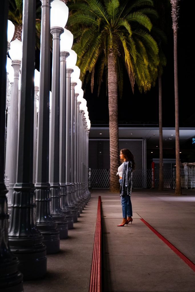 lacma lights structure art installation photo op los angeles santa monica bevely hills west