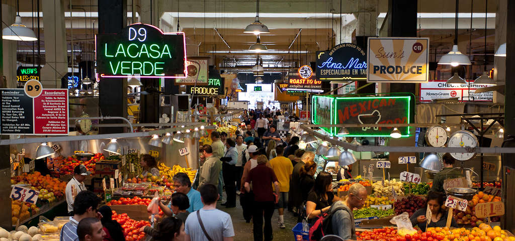 The Many Foods of Grand Central Market