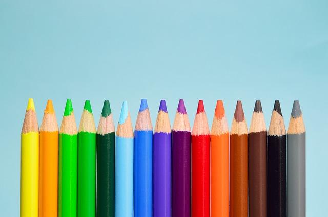 colored pencils crayons