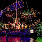 holiday boat lights