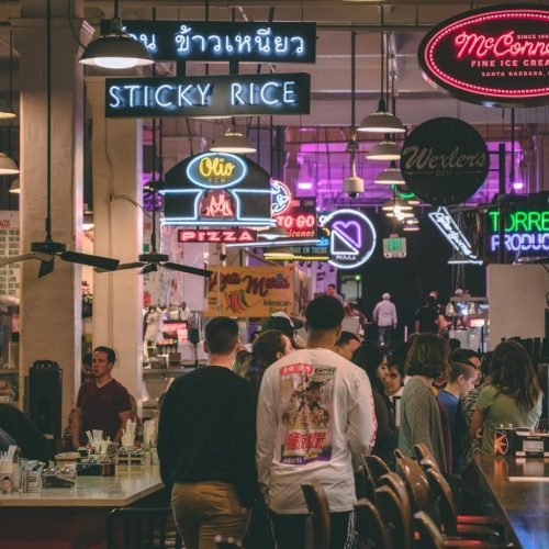 The Many Foods of Grand Central Market in Downtown LA