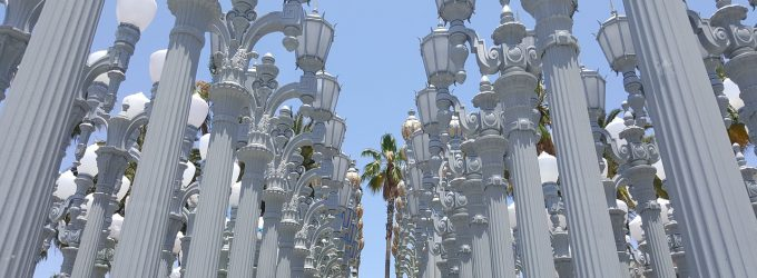 The Lights Statue Everyone's Been to: LACMA