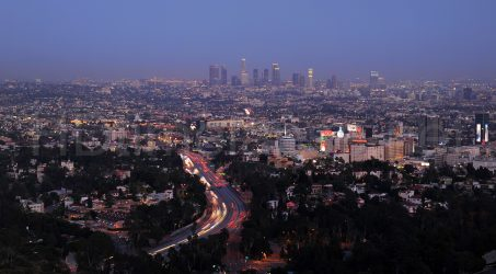 The Amazing Views of Los Angeles on Mulholland Drive: Scenic Overlook