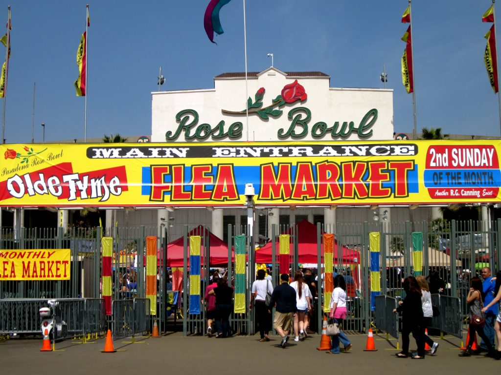 rose bowl flea market olde tyme swap meet thrifting