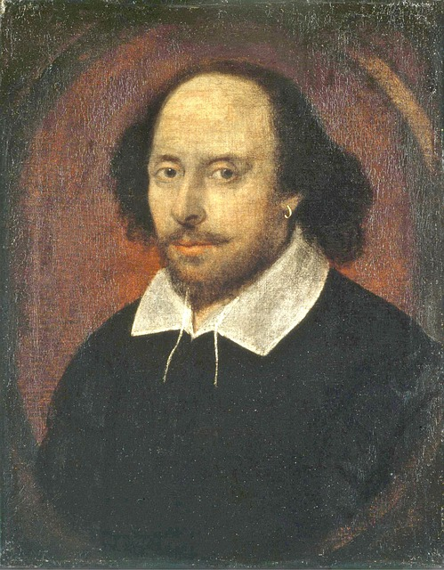william shakespeare portrait painted