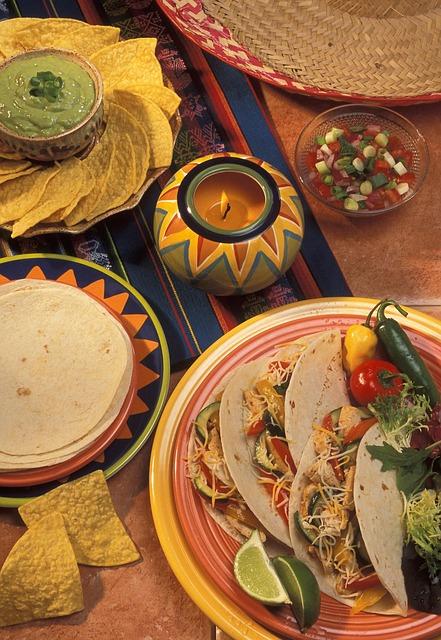 tacos and nachos salsa