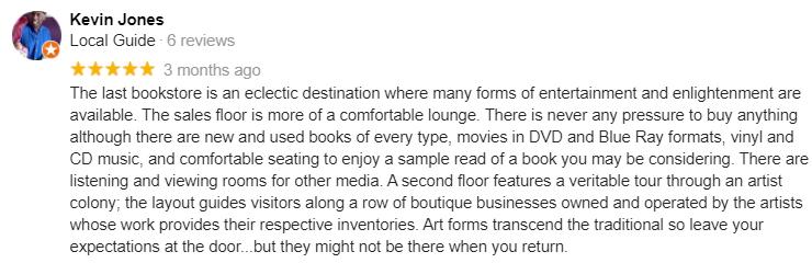 kevin Jones the last bookstore review los angeles dtla downtown