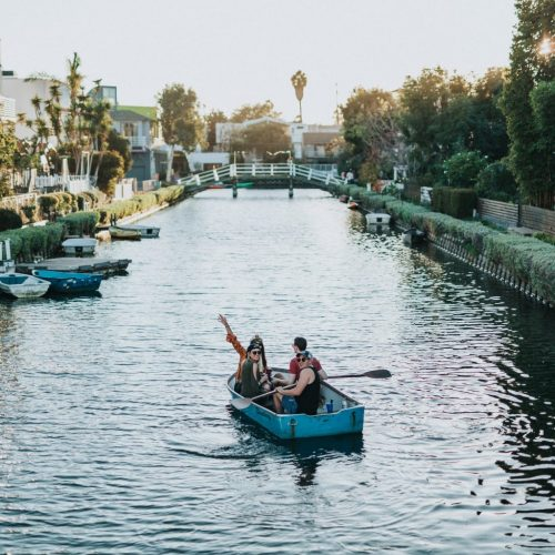 Hip Houses and Sweet Waterways: The Los Angeles Venice Canals are a nice homage to Italy's