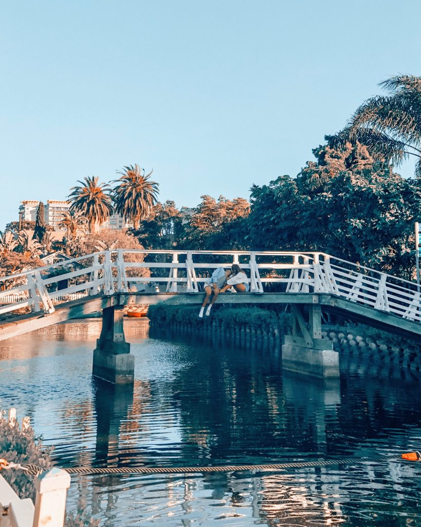 date venice canals los angeles waterways