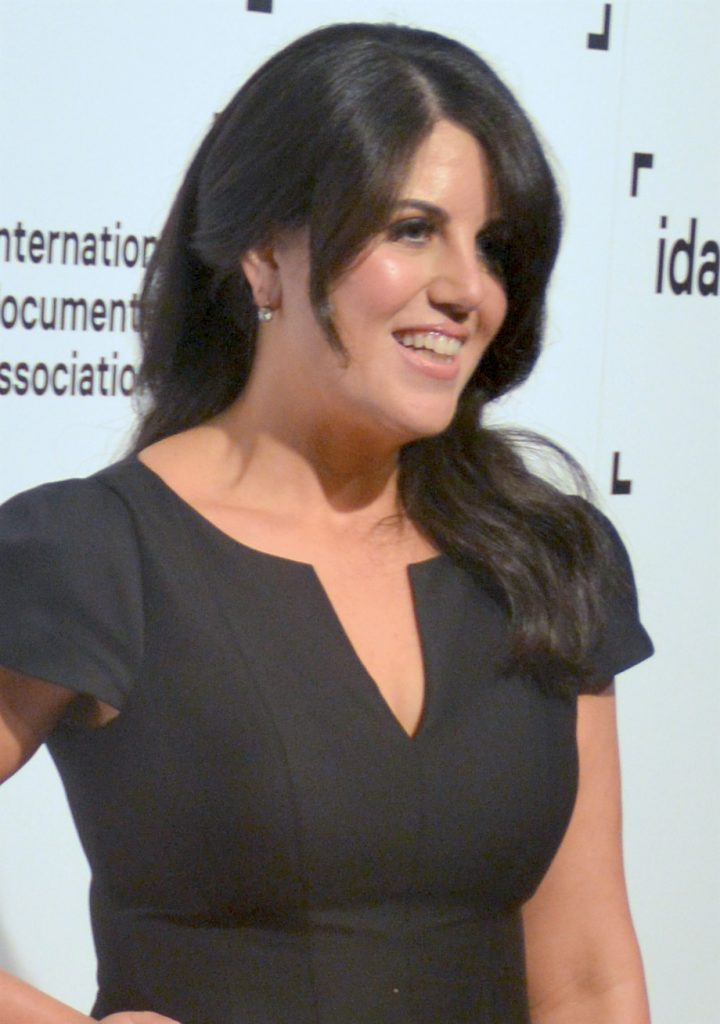 monica lewinsky older 2014 picture dress