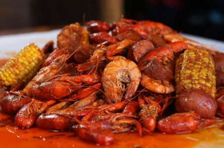 Get Your Spicy Cajun Seafood On at The Boiling Crab in Westwood
