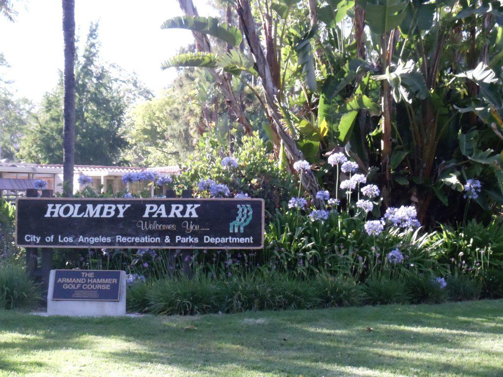 holmby park armand hammer golf course