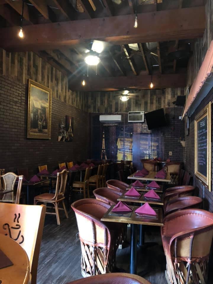 ninas cafe interior hungtinton huntington park restaurant