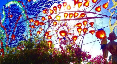 The Glorious Glass Glistening of Phantasma Gloria at Randyland in Echo Park