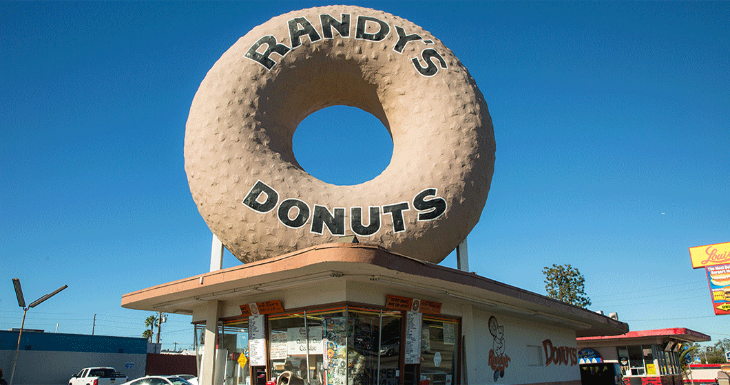 Name a More Iconic (and Delicious) Sign, We Dare You: Randy's Donuts in Inglewood