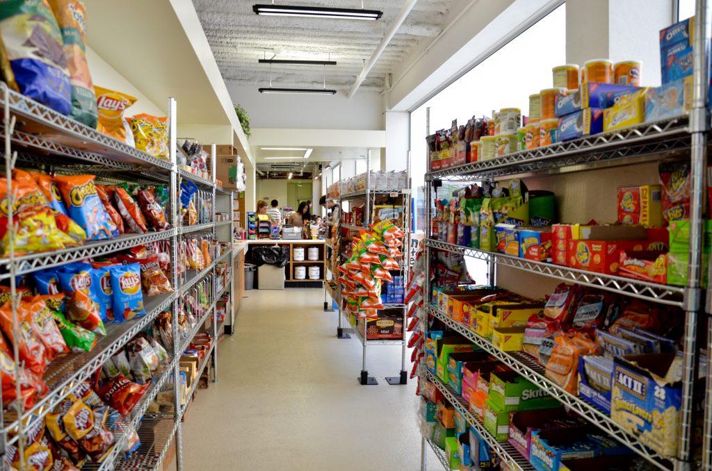 UCLA SEAS Cafe snacks popcorn chips junk food