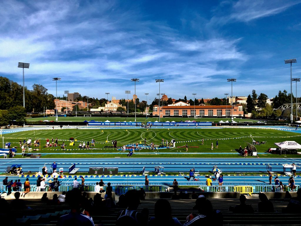 ucla bruin stadium john wooden track and field