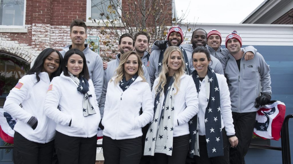 bachelor winter games cast