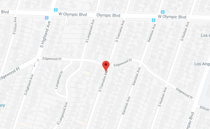 south tremaine avenue google maps