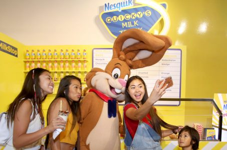 LA Nesquik Pop-Up Milk Stop: Delicious drinks, fun photo ops, and best of all, free