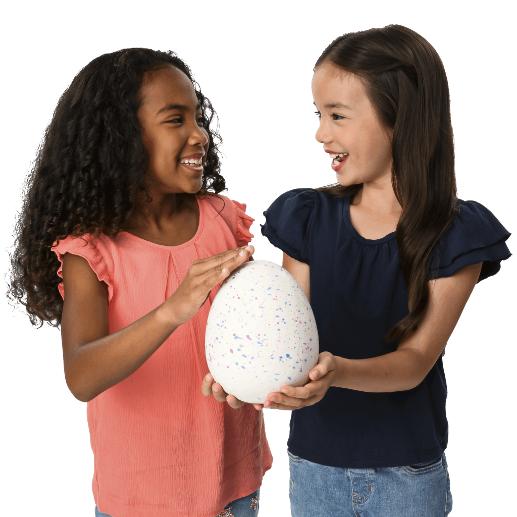 hatchibabies hatchimals two girls holding