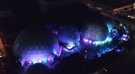 Wisdome LA: Arts District's immersive art and musical experience all housed in 5 huge domes