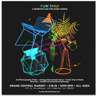 fun shui art decor event