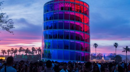 SPECTRA: All you need to know about the Rainbow Tower Building at Coachella