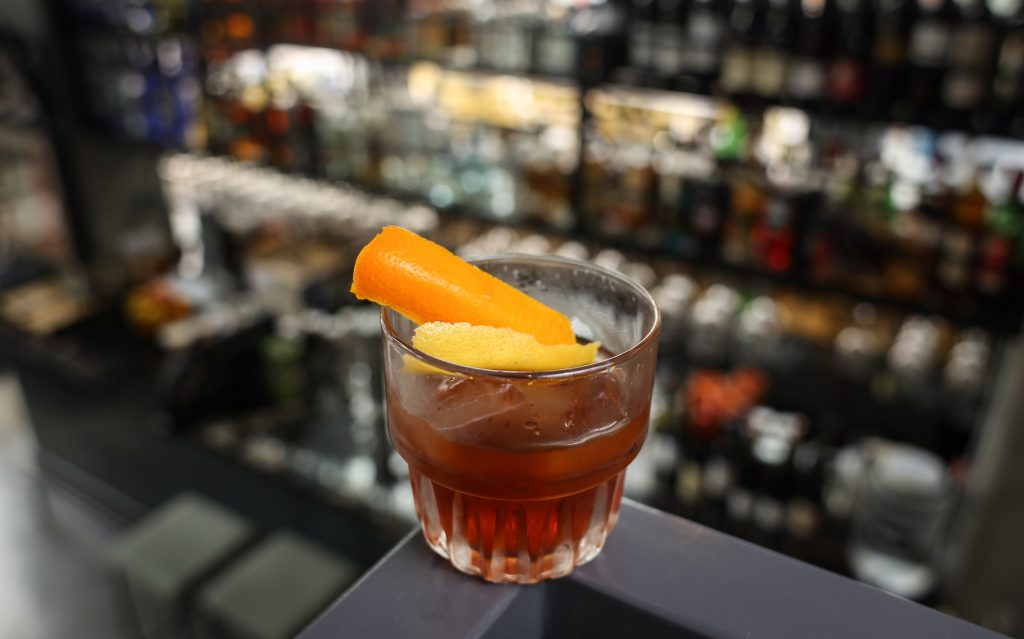 old fashioned cocktail prank dtla alcohol