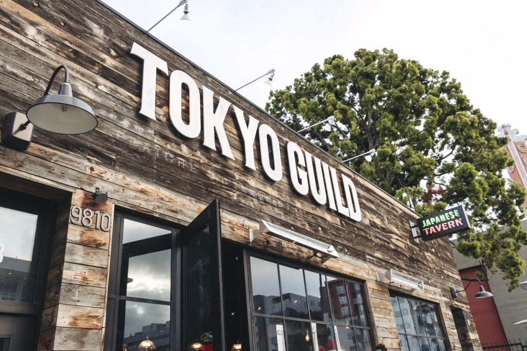 tokyo guild restaurant tavern bar culver city long beach