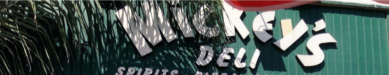New Mickey Mance, Marlon Brando, Frank Sinatra Mural at Mickey's Deli in Hermosa Beach