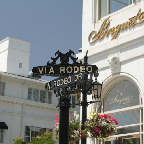 Rodeo Drive in Beverly Hills, Where Everyone Can Feel Bougie for the Day