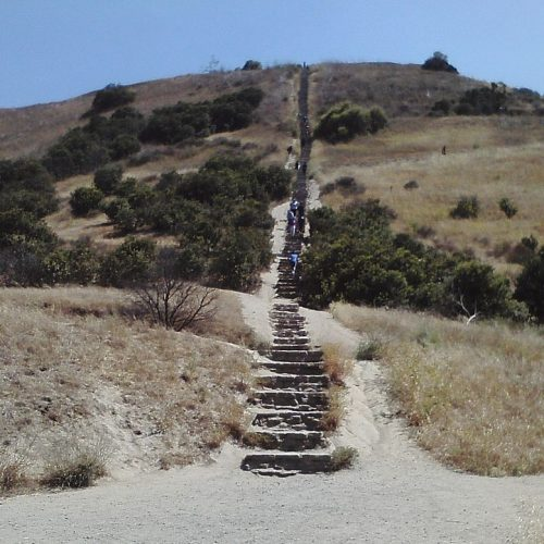 The Culver City Steps / Stairs aka Baldwin Hills Scenic Overlook is an Amazing Outdoors Workout