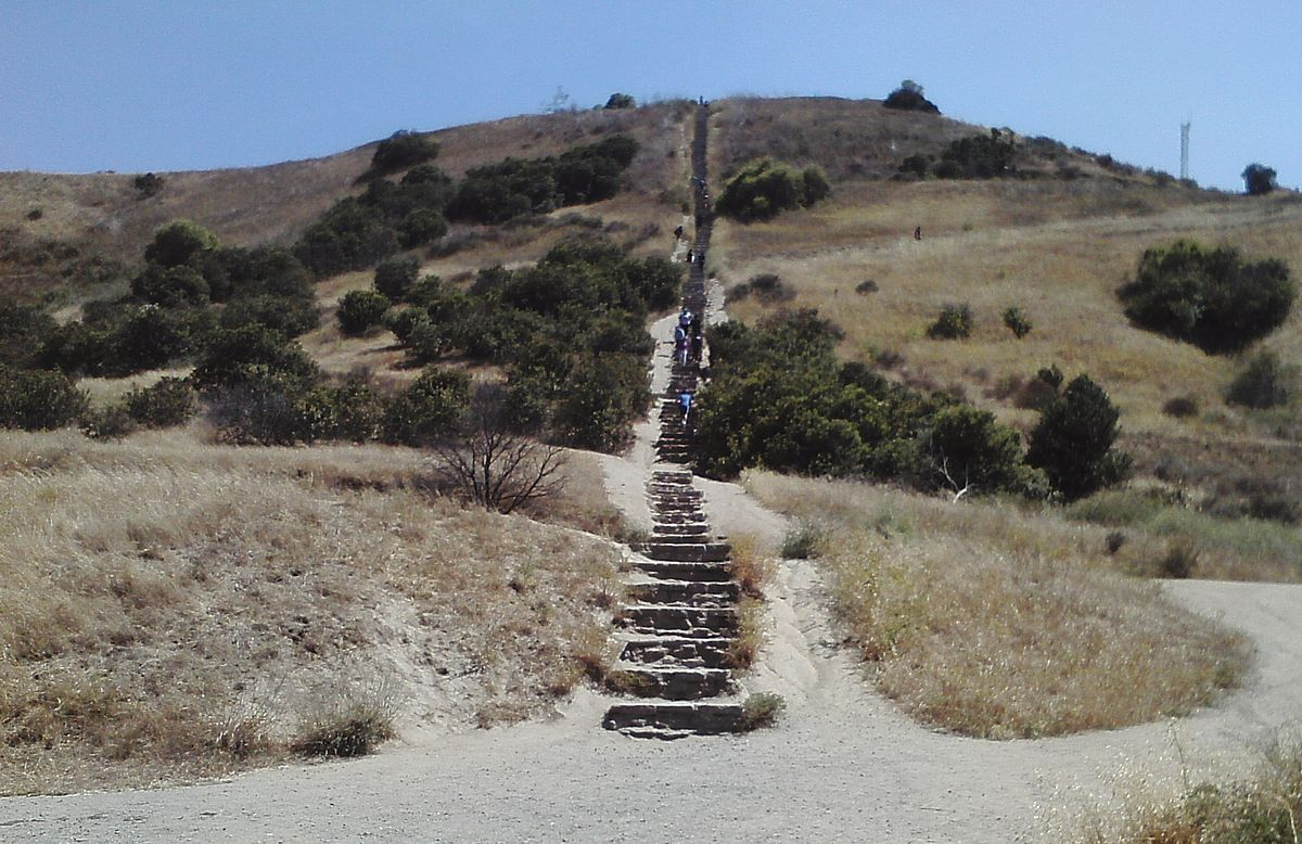 culver city stairs walking hiking exercising