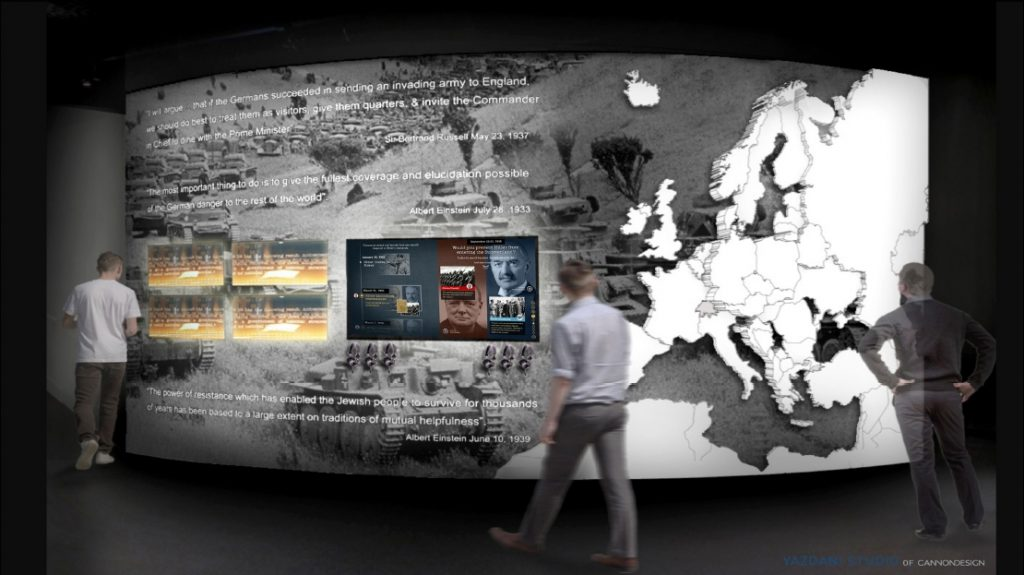 holocaust museum of toleance los angeles exhibit