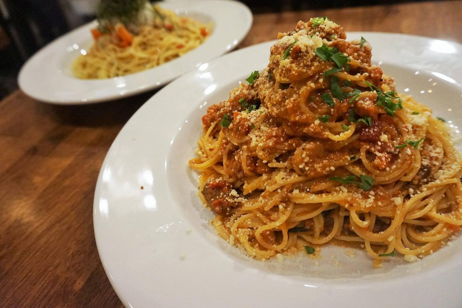 pasta e pasta allegro little tokyo yummy spaghetti yummy