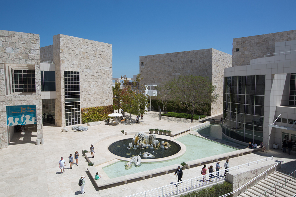 getty architecture outside building