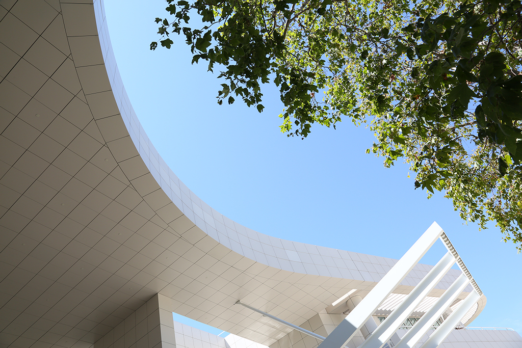 museum getty center curved designs architecture