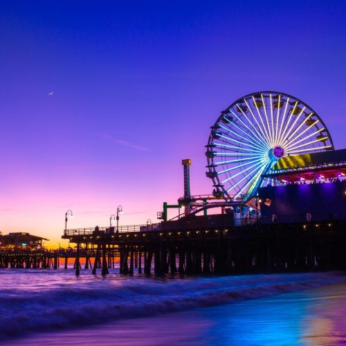 Santa Monica Pier is Actually One of the Most Interesting Piers in SoCal