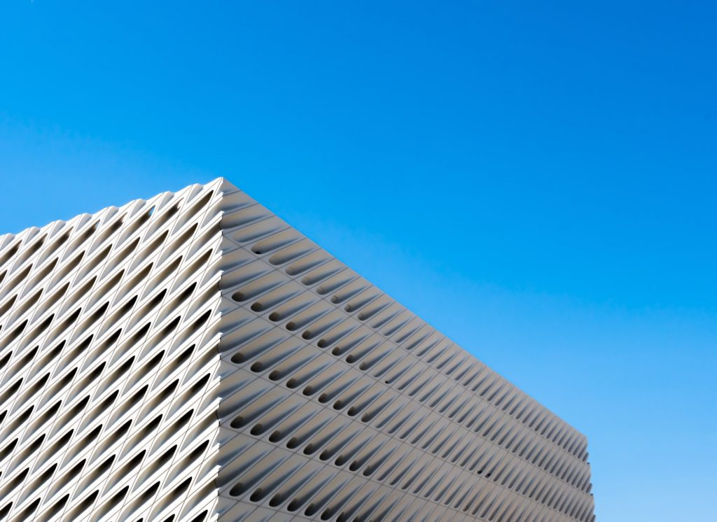 The Broad art museum dtla downtown los angeles exterior