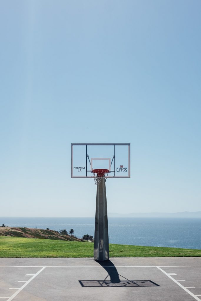basketball hoop san pedro angels gate korean park friendship bell